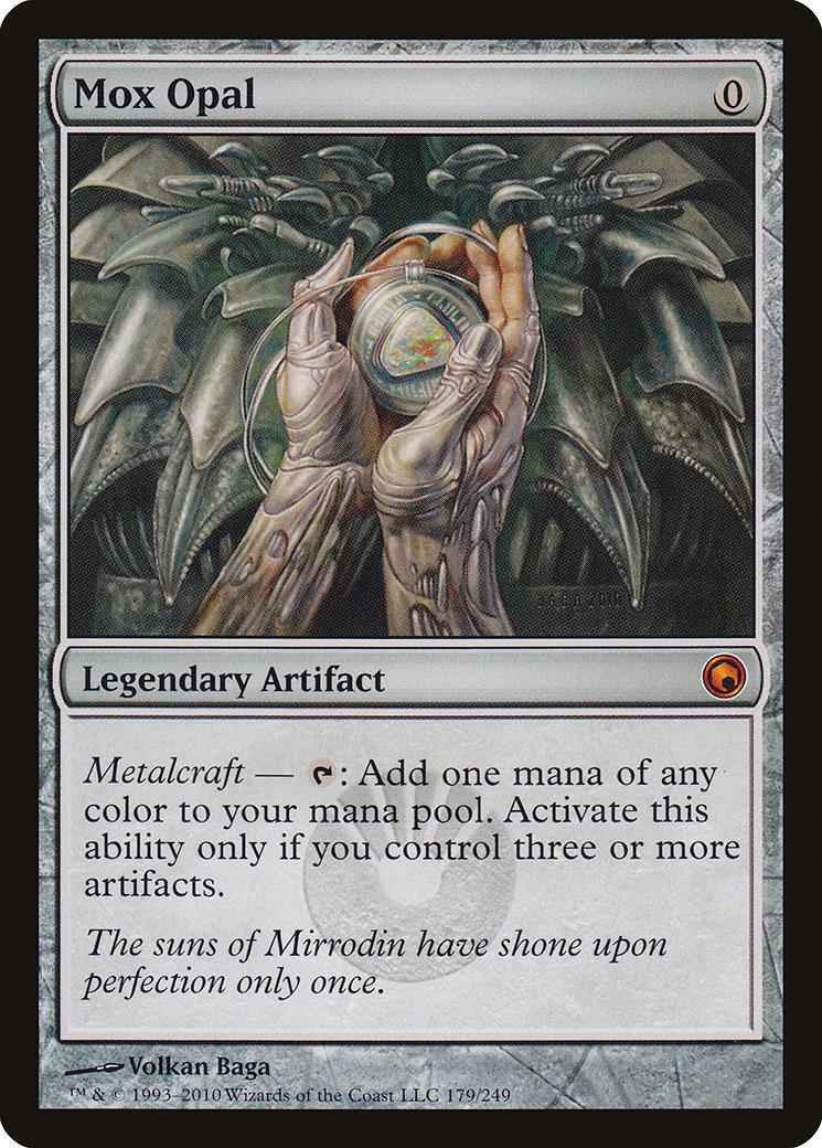 MTG Mox Opal NM - - - Scars of Mirrodin 1ba95d