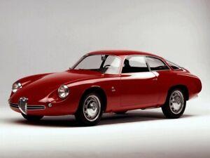 Alfa Romeo Giulietta Sprint Zagato coda tronca rot 1960 -1:18 Cult Scale limited