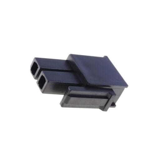 8x MX-171692-0102 Stecker Leitung-Platte weiblich Mega-Fit 5,7mm PIN 2 MOLEX
