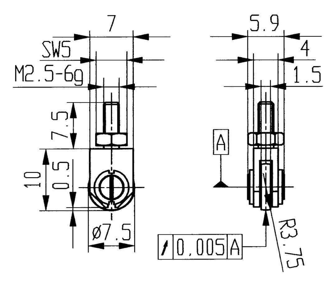 Käfer Messeinsatz Stahl Abbildung 22  7,5mm - 62076 | Auktion  | Neu  | Eine Große Vielfalt An Modelle 2019 Neue