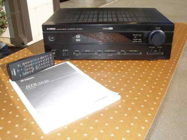 yamaha htr 5630 5 1 channel 350 watt receiver ebay rh ebay com Yamaha HTR-5630 Receiver yamaha htr 5630 service manual