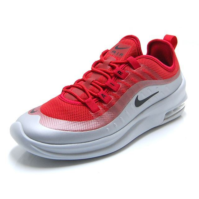 NIKE AIR MAX AXIS LOW SNEAKERS MEN SHOES RED PLATINUM AA2146-600 SIZE 10.5 NEW