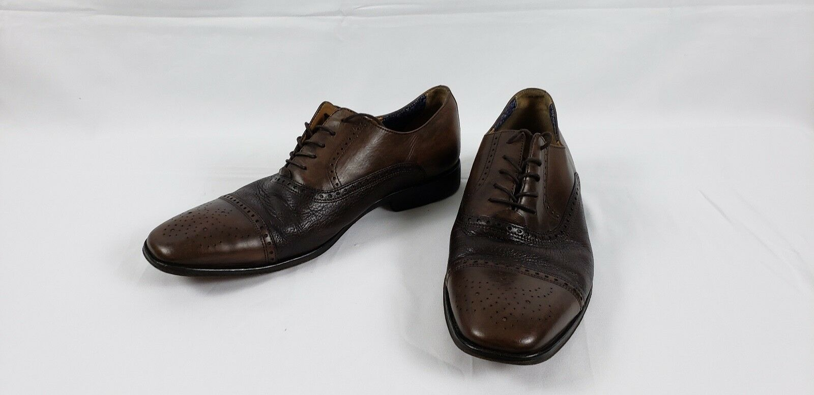 Florsheim imperial, zapatos marróns, talla 10d.