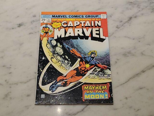 Captain Marvel #37 FN- 5.5 1975