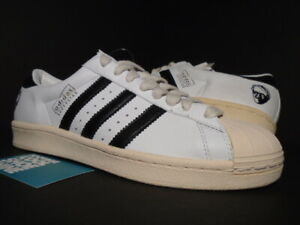 newest ca888 0d80a Details about 2005 ADIDAS SUPERSTAR VINTAGE ADI DASSLER WHITE BLACK ULTRA  BOOST PK 133671 8.5