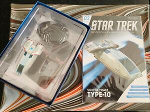 Eaglemoss-Star-Trek-DS9-Chaffee-Shuttle-3-w-Mag