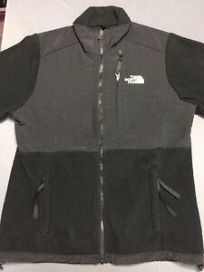 12d6bc283 Details about Women's THE NORTH FACE Polartec Fleece Denali Jacket MEDIUM M  Black VTG EUC