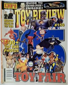 Lee S Action Figure News Toy Review Price Guide Magazine 150 March 05 Toy Fair Ebay