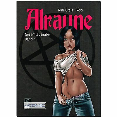 Alraune Gesamtausgabe 1 Nr.1 -4 Toni Greis 9784118187754 EROTIK Fantasy COMIC LP