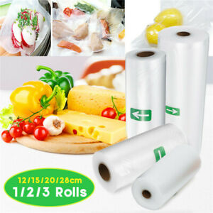 5M-Roll-Vacuum-Food-Sealer-Seal-Bags-Saver-Storage-12-15CM-Fresh-keeping-Bag