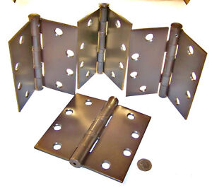 Steel McKinney Products MPB79 4 1//2X4 1//2 NRP 26D Hinge Pack of 3