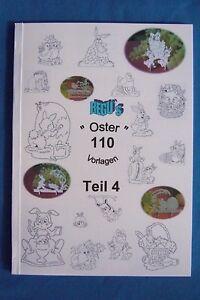 über 100 Laubsägevorlagen Für Ostern Buch Teil 4 Figuren Zum
