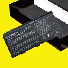 7800MAH NEW battery for MSI GT680DXR GT680R GT663 GT683 GT680 GT680D BTY-M6D
