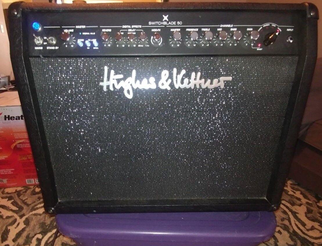 Hughes & Kettner Switchblade 50 Watt -Tube &Digital Guitar Amplifier Combo. w FS