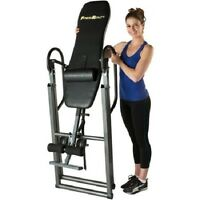 Gravity Inversion Table Fitness Back Therapy Relief