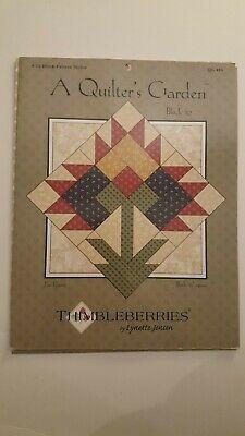 Thimbleberries By Lynette Jensen A Quilters Garden Fan Flower