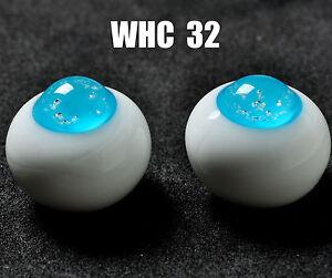 New 18mm Light Blue Glass BJD Eyes for DOD DZ AOD Volks Reborn Doll luts