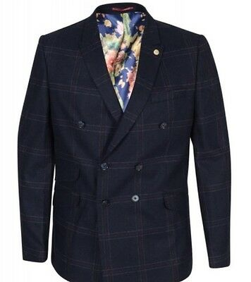 New Mens Guide London Navy Blazer Size 38 £89.99 or Best Offer RRP £185