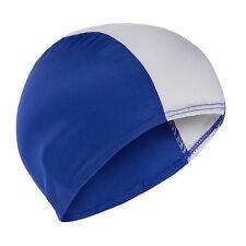 Swimming Hat Childs Childrens Kids Fabric Swim Hat School Swim Lessons Cheap Blu