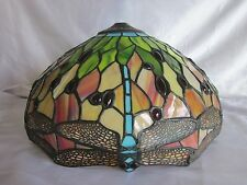 """Dale Tiffany Stain Glass Dragonfly Lamp Shade 14"""""""