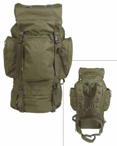 Mil-Tec RUCKSACK RECOM 88 LTR PES OLIV Tagesrucksack Rucksack Tasche