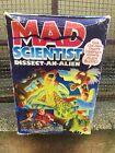 SEALED Mad Scientist DISSECT-AN-ALIEN Mattel 1986 Monster Figure Blood Playset