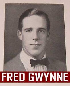 Fred Gwynne Car 54 FRED GWYNNE HIGH SCHOO...