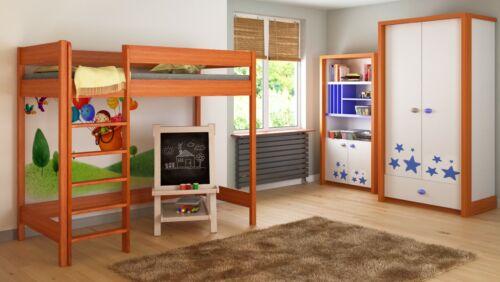 Loft lits pour enfants juniors matelas 140x70//160x80//180x80//180x90//200x90