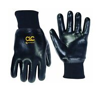 Custom Leathercraft 2080l Pvc Gloves With Knit Wrist Large Free Shipping