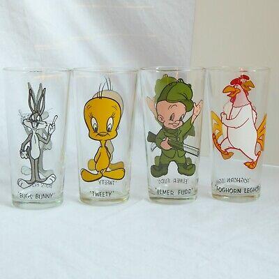 Road Runner 1973 Pepsi Collector Series Vintage Glass  Looney Toons WB