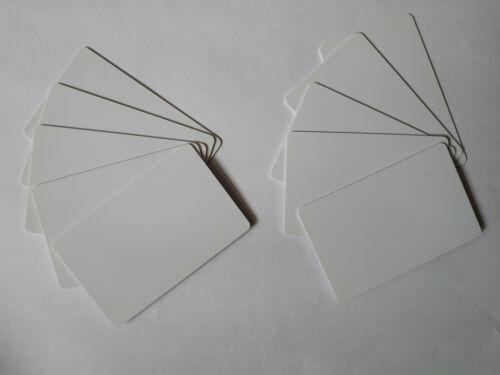 Lot de 10 cartes RFID imprimables Neuves Mifare Compatible Inkjet