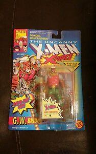 New-1992-Marvel-G-W-Bridge-The-Uncanny-X-Men-Action-Figure-Toy-Biz