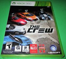 The Crew Microsoft Xbox 360 *Factory Sealed! *Free Shipping!