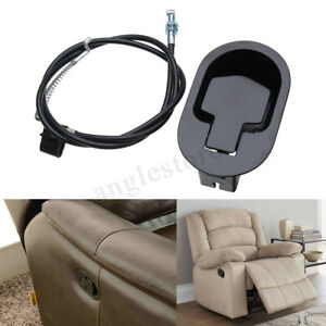 Metal-Recliner-Handle-Release-Lever-Trigger-Cable-Sofa-Lounge-Chair-Replace-US