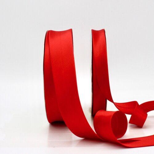 30 mm-Pillar Box Red 46-Bordure Bordure Satin Bias Binding
