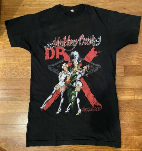 Vintage Motley Crue Dr Feel Good Tour T-Shirt - image 1