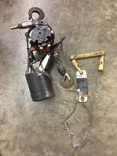 Ingersoll Rand Aro 14 Ton 550 Lb Pneumatic Air Chain Hoist 7718e 1c10 C6u