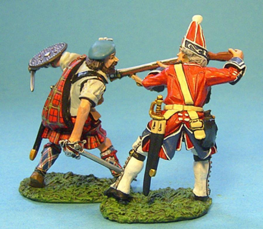 John Jenkins jakobitischen Rebellion JR-15 Schlacht Set  2 Highlander &