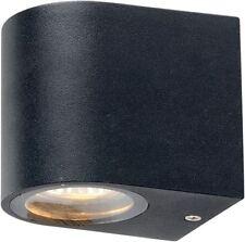 3W LED 3000K IP54 DOWN curvo grigio scuro Luce Parete per uso esterno