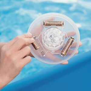 New Bestway 4 Colours LED Floating Pool Light Lay-Z-Spas Pools and Hot Tubs