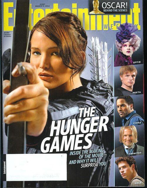 THE HUNGER GAMES Jennifer Lawrence MERYL STREEP Liam Hemsworth JOSH HUTCHERSON