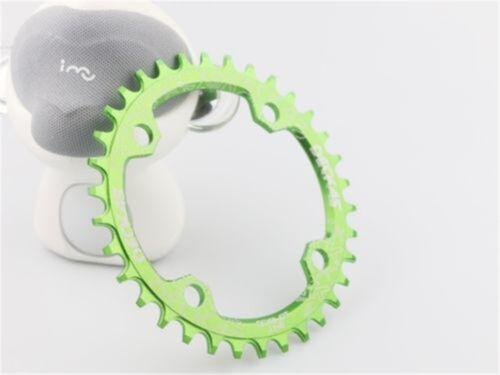 DECKAS 104bcd MTB Bike Round//Oval Narrow Wide Chainring 32//34//36//38T Lot