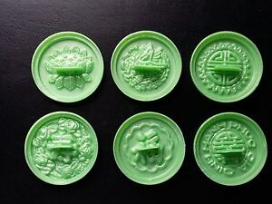 Set-of-6-Snow-Flaked-Cake-Molds-Large-Size-Green-Color-Khuon-Banh-In-L-n