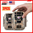 2-Pack Campark 1080P Hunting 16MP FHD Wildlife Trap Camera