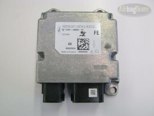 Ford Fiesta Airbag ECU Control Module C1BT14B321FE No Crash Data