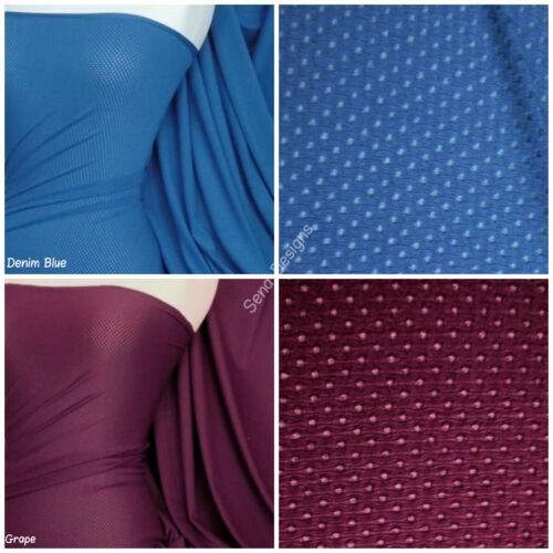 Calidad Premium Malla De Tela Super Stretch Sportswear AIRTEX RM981 tarifa de envío y manipulación