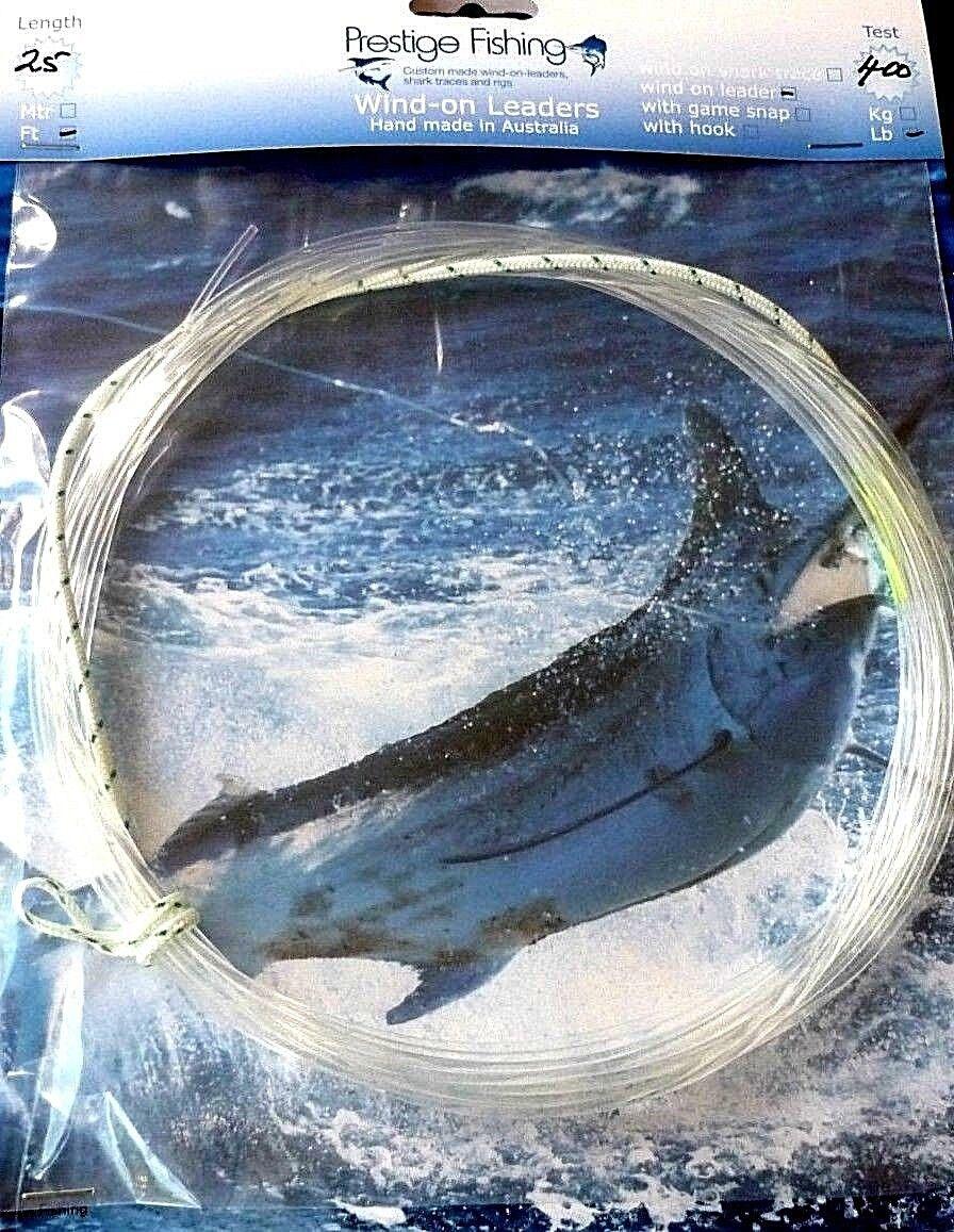 Líder  Windon 5 X 400 lb líderes del viento en líder en atún Marlin zorro del viento  opciones a bajo precio