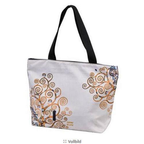 Goebel Der Lebensbaum Shopper Tasche Damentasche ANGEBOT Gustav Klimt NEU