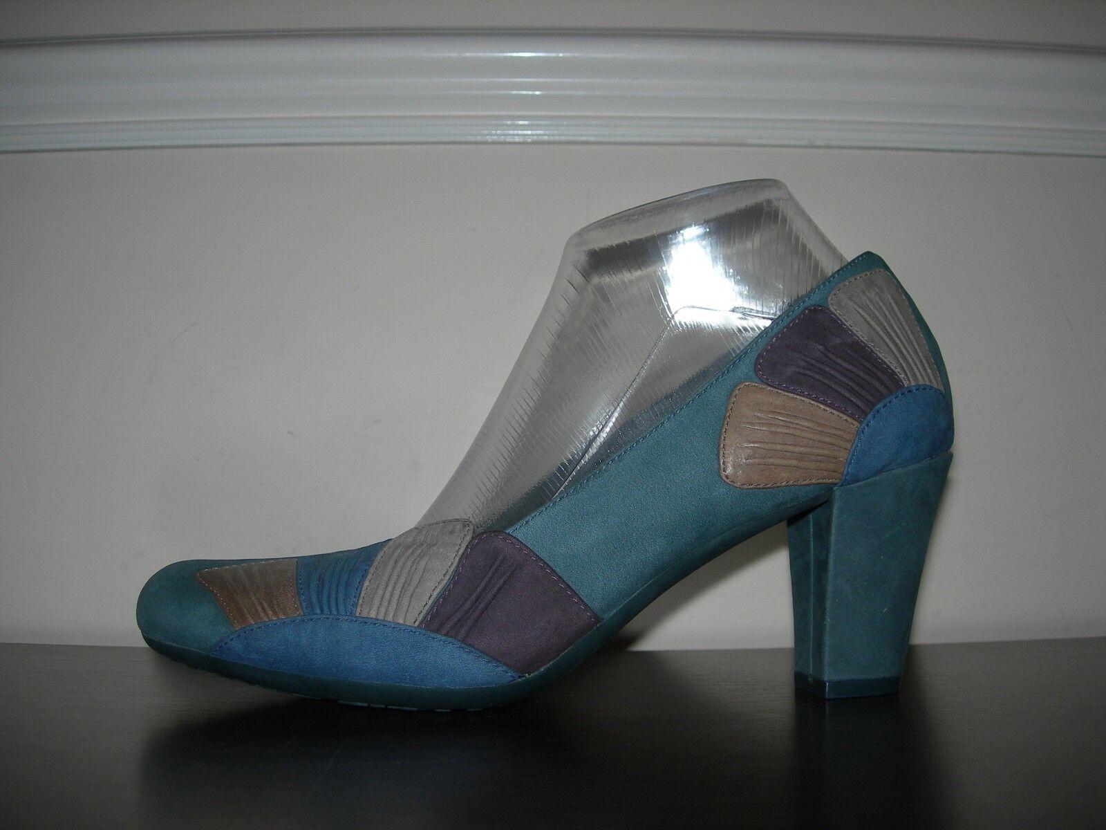 Camper Twins Femmes Cour Chaussures talons nubuck dessus eu 40 UK 7 - 7.5 très rare