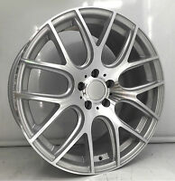 19 Audi Vw Avant Garde Style Wheels A6 A4 S4 Rims Silver Mesh Concave 19x8.5 B8